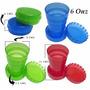 Vasos Retractiles, Colapsables, Plásticos, Personalizaciones