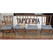 Sillas Escandinavas Vintage Tapizadas. Vos Elegís La Tela!
