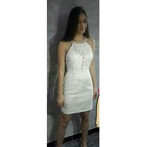 Vestido Blanco Corto Modelo Studio F