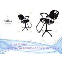 Silla De Corte Y Peluquería Nuevas Sauna Salud Barberia