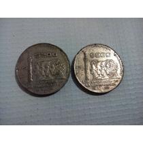 Dos Monedas Del 200 Aniversario De La Independencia 175