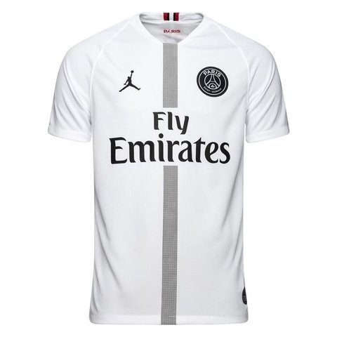 e4c840912 Camiseta Psg Jordan Camisa Paris Saint Germain Branca França - R  120
