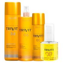Kit Trivitt 6 Itens 3 Shampoos 00, 1 N°04 1l, 1 N°06 E N°08