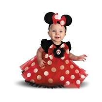 Disfraz De Minie Mouse Para Niña Talla 6-12 Meses