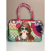 Nicole Lee Suzy Print Boston Bag
