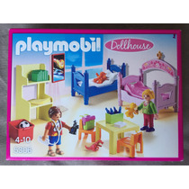 Playmobil Dollhouse Litera Recamara Niños