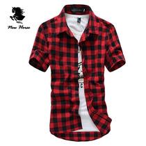 Camisa Xadrez Masculino Importado