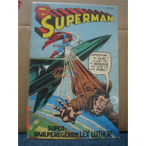 Superman Edición Danesa 1978 Raro Envio Dhl Incluido