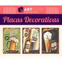 Placas Decorativas Em Mdf 20x30! Retrô Vintage Bebida Comida