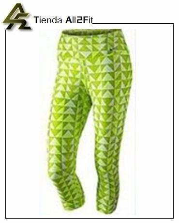 Dama Bs Neon Leggings 41 Nike 99 Licra Deportivo Capri Original HF5wqP