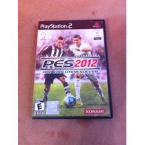 Pes-2012 Pro Evolution Soccer - Playstation 2 - Original