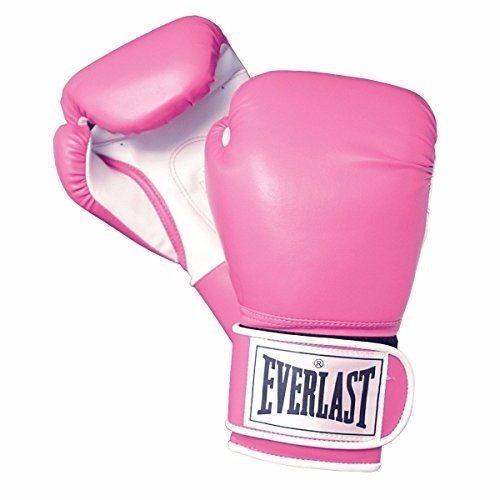 Luva De Boxe Muay Thai Feminina Everlast 12oz Rosa A Melhor - R  109 ... bd10ee74c19bd