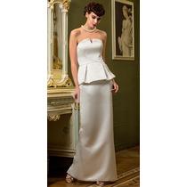 Vestido De Novia Boda Civil Con Envio Gratis Mod:0062