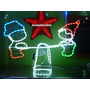 Luces De Navidad Led Balancin Enanitos Con Movimiento