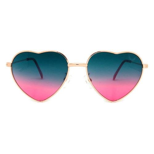 9770d84b9 Óculos Infantil Coração Degradê Verde E Rosa - R$ 79,90 em Mercado Livre