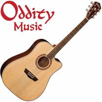 Washburn Wd20sce Guitarra Electroacústica Fishman - Oddity