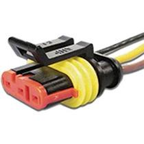 Conector C/ Rabicho 3 Vias P/ Sensor Borboleta Fiat Uno
