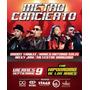 Boletas Para Metroconcierto Bogotá - 9 Sept Alfombra Roja