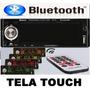 Auto Radio Automotivo Tela Touch Sd/usb Mp3 Player Bluetooth