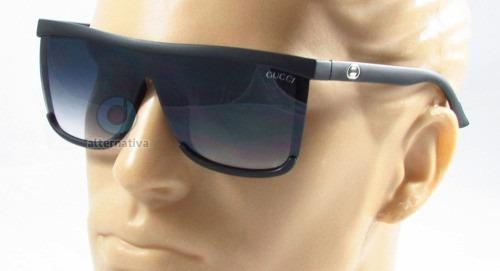 b635955d85177 Óculos De Sol Quadrado Top Masculino Feminino
