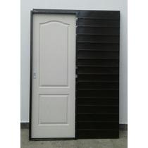 Puerta Corrediza Embutir Chapa 18 Craftmaster 60/70x200x15