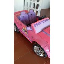 Carro Barbie De Bateria En Buenas Condiciones