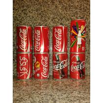 8 Latitas De Coca Cola De Coleccion