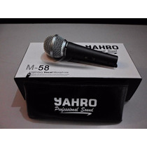 Microfono Profesional Jahro Unidireccional M 58