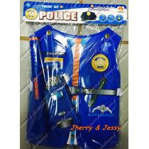 Kit Fantasia Profissões Policial