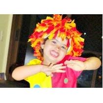 Peruca Emilia Infantil Sitio Do Picapau Amarelo Fantasia