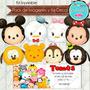 Kit Imprimible Tsum Tsum Disney Imagenes Cumple Invitacion