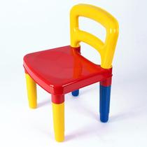 Cadeirinha Cadeira Infantil Colorida Poliplac Criança 3 Anos