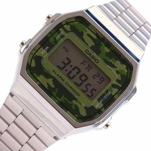 5abeb67e159 Reloj Casio A168wec Vintage Retro Camuflado Garantía 2 Años -   2.699