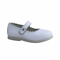 Zapato Balerina Marcel Cuero 100% Abrojo Nenasbebes Bautismo