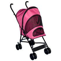 Accesorios Carreola Para Mascotas Pequeñas Color Rosa +kota