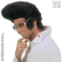 Peluca De Elvis Presley Rey Del Rock Para Disfraz