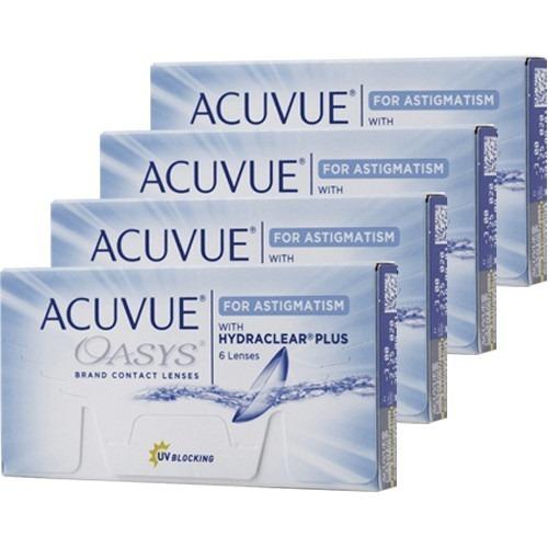 Lente De Contato Acuvue Oasys Tórica P  Astigmatismo Diária - R  178,49 em  Mercado Livre 96ce6d689d