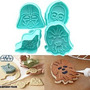 Moldes Cortantes Para Galletitas Star Wars Importados