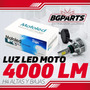 Luz Led Farola Moto 4000lm Reales Balastra Independiente