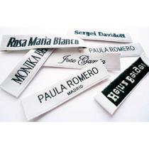 Etiquetas Tejidas Para Ropa Marquillas Woven Labels