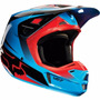 Capacete Fox V2 Imperial Red/yellow