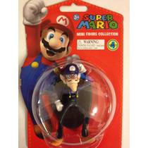Boneco Super Mario Mini Figure Collection Waluigi Dtc