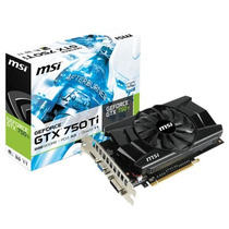 Oferta Placa Vga Msi Geforce Gtx 750ti 2gb 128 Bits Pci-e