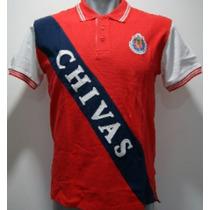 Playera Tipo Polo Chivas Guadalajara