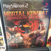 Mortal Kombat Shaolin Monks Ps2 Nuevo