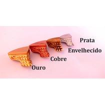 Kit 4pés De Resina Decorados Para Caixa Mdf E Bandeja - M