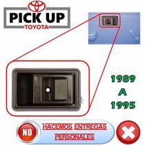 89-95 Toyota Pick Up Camioneta Manija Interior Izq. Cafe