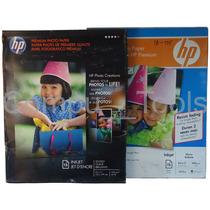 Papel Fotografico Hp Brillante 8.5 X 11 240g/m C6039a 15 H.
