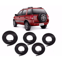 Kit Borracha Porta E Mala Ford Ecosport 03 À 11
