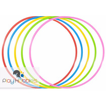 30 Bambolês Arco Infantil Reforçado 67 Cm Colorido - Atacado